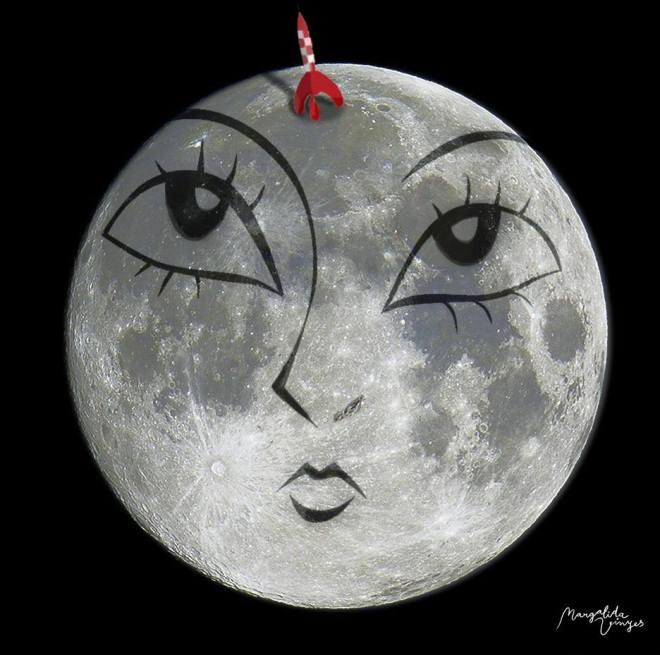 Lluna d'Octubre. Marga Vinyes